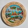 Чиния от дърво с пирография България