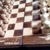 34лв. Дърворезбован комплект за Шах Табла БОРОВЕЦ