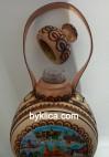 9.00 лв. Бъклица с пирография Рождество Христово (Шипка)