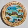 3.80лв Чиния сувенир от дърво с пирография