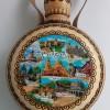 24.00 лв. Дървена бъклица с пирография МЕЛНИК 750 мл.