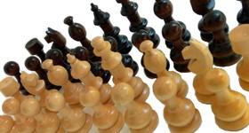 15лв. Фигури за шах от дърво