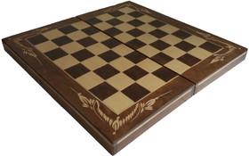 55лв. Шах и табла МЛАДОСТ СОФИЯ с дърворезба
