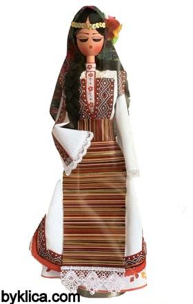 45.00 лв. Дървена кукла с народна носия МАКЕДОНКА