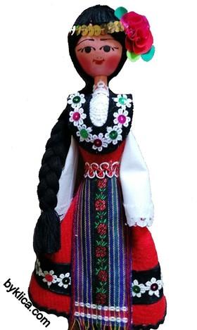 21.00 лв. Дърена кукла в народна носия сувенир