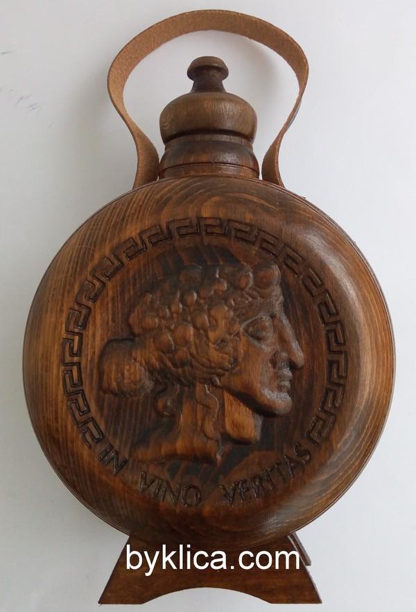 37.00 лв. Бъклица за мъж с образа на Бог Дионис