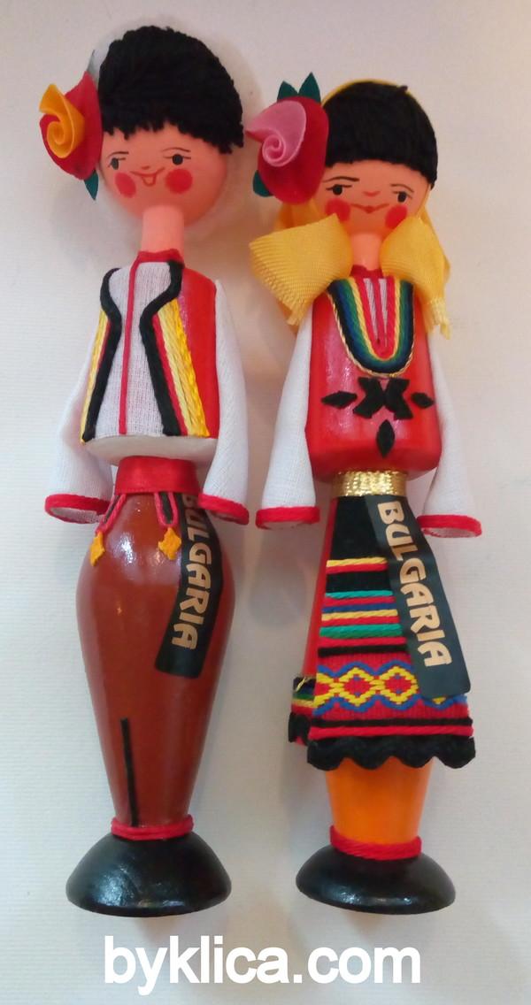 18лв. Сувенир Кукли България