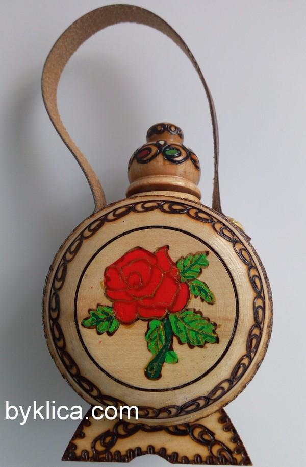 6.50 лв. Бъклица сувенир с Българска роза