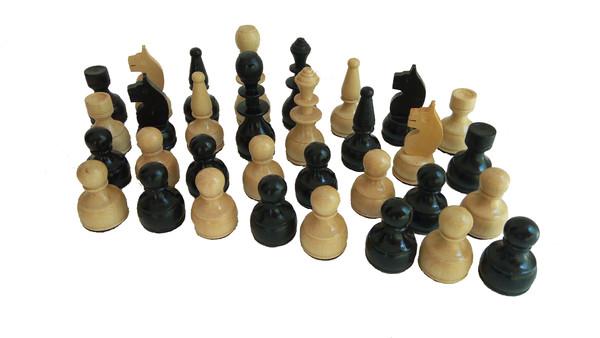 20.00 лв. Дървени фигури за шах