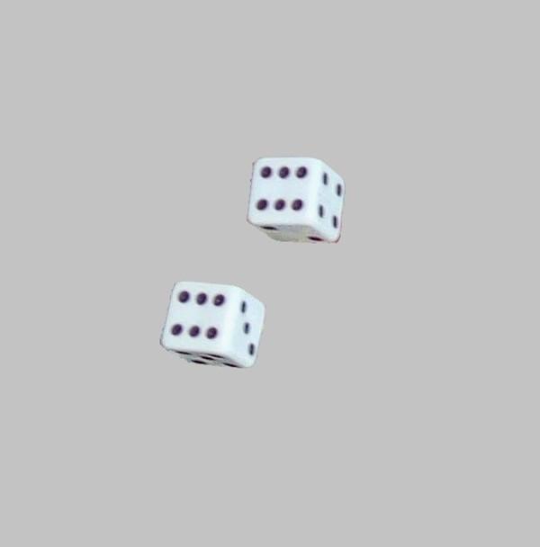 Зарове за игра пластмасови 10 мм
