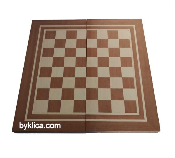 60.00 лв. Шах и табла с фурнир от махагон и бук