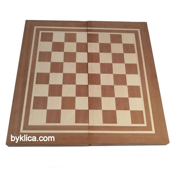 60.00 лв. Голяма шах табла фурнирована ОРЕШАКЬ