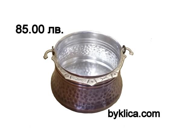 Менче/котле от кована мед 2 литра