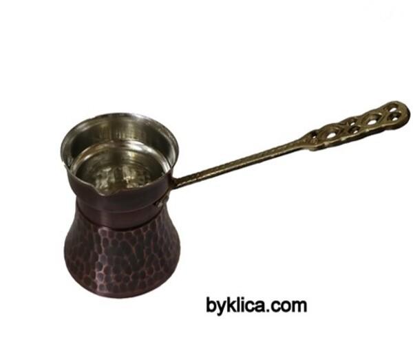 Джезве от бакър за турско кафе