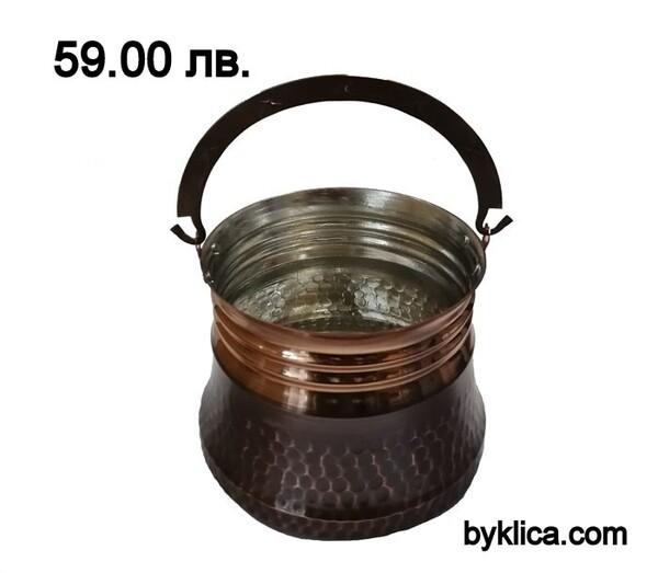 Медно менче/котле 1 литър