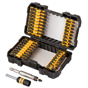 Накрайник с магнитен държач комплект PH/PZ/TX/SB 34 бр, ударни, Dewalt DT70543T