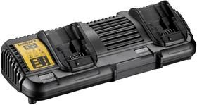 Двойно зарядно устройство за акумулаторни батерии DeWALT DCB132, 10.8-18V