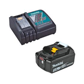 Комплект Makita - батерия 18V, 3Ah BL1830 и зарядно DC18RC