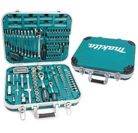 Гедоре комплект вложки с ръчни инструменти 227 бр. Makita P-90532