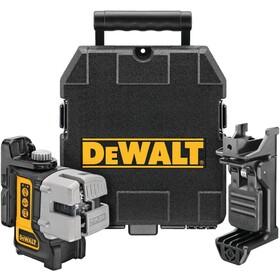 Линеен лазерен нивелир с 3 лъча 15 м, 0.3 мм/м Dewalt DW089K