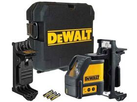 Линеен лазерен нивелир с 2 лъча 15 м, 0.3 мм/м, с приемник Dewalt DW088K