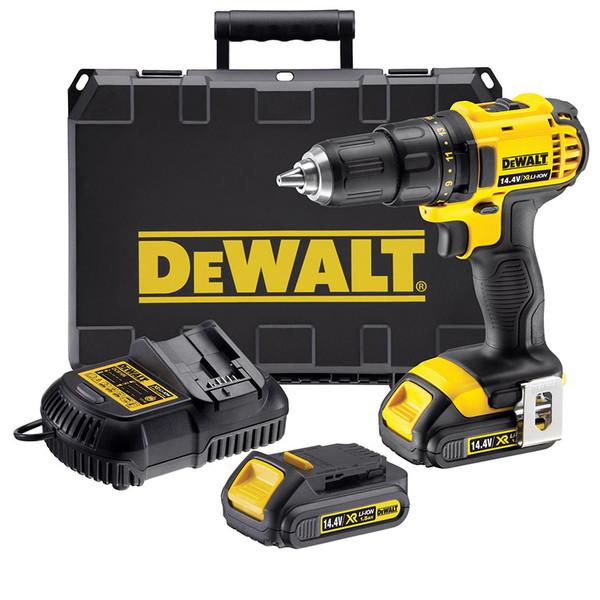 Винтоверт акумулаторен Dewalt DCD730C2, 14.4 V, 1.5 Ah