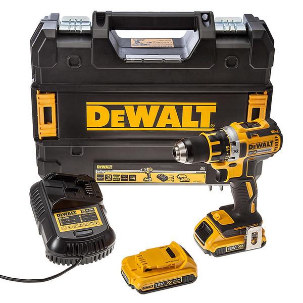 Винтоверт акумулаторен Dewalt DCD790D2, 18.0 V, 2.0 Ah