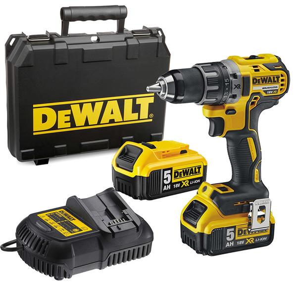 Винтоверт акумулаторен Dewalt DCD791P2, 18.0 V, 5.0 Ah