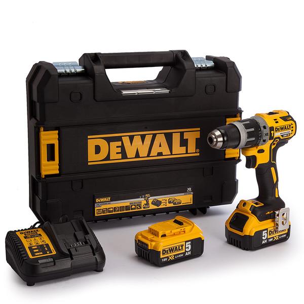 Винтоверт ударен акумулаторен Dewalt DCD796P2, 18.0 V, 5.0 Ah