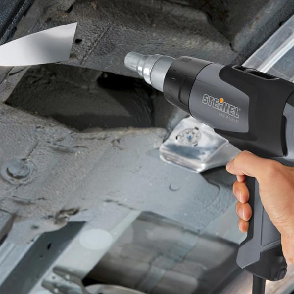 Пистолет за горещ въздух Steinel HG 2120 E, 2200 W, в куфар, с термоскенер