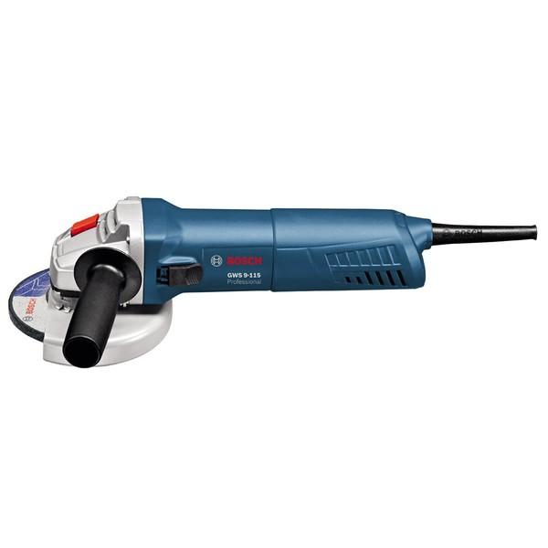 Ъглошлайф електрически Bosch GWS 9-115, 900 W, ф 115мм