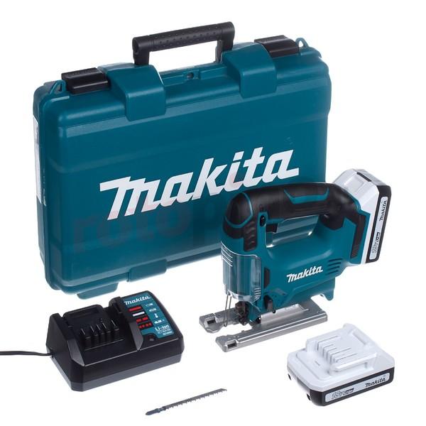 Трион прободен зеге Makita JV183DWE, 18.0 V, 1.3 Ah