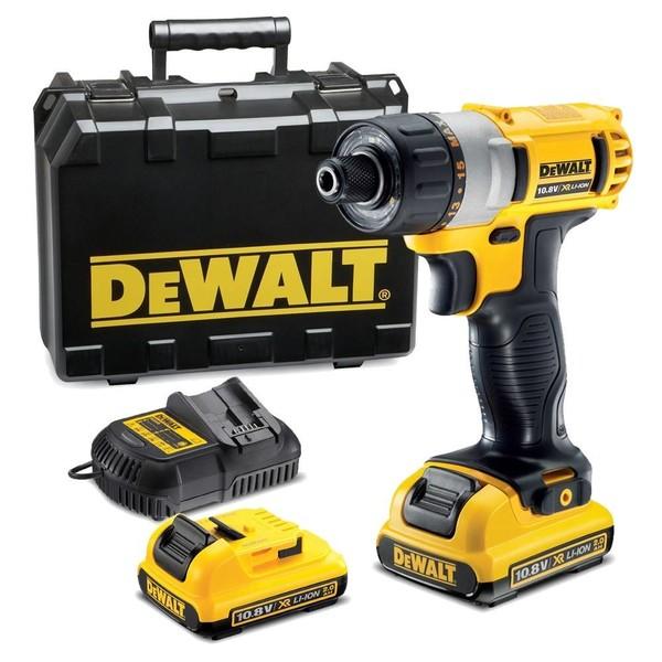 Винтоверт акумулаторен DeWALT DCF610D2, 10.8 V, 2.0 Ah