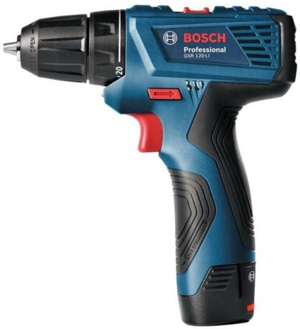 Винтоверт акумулаторен Bosch GSR 120-Li, 12.0 V, 2 Ah