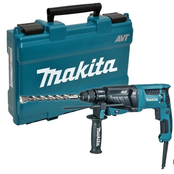 Перфоратор Makita HR2631F, SDS-plus, 800 W