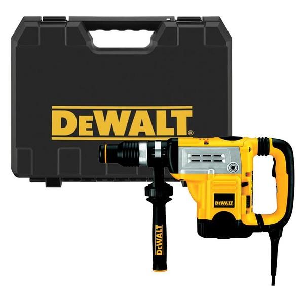 Перфоратор съсзахват SDS-MAX Dewalt D25601K