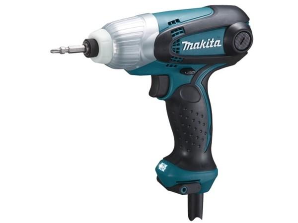Гайковерт ударен Makita TD0101F, 1/4'', 100 Nm