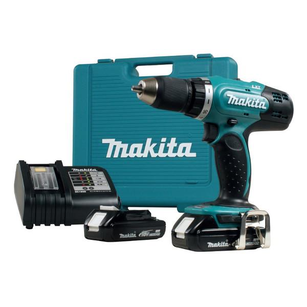 Винтоверт акумулаторен Makita DDF453RFE, 18.0 V, 3.0 Ah