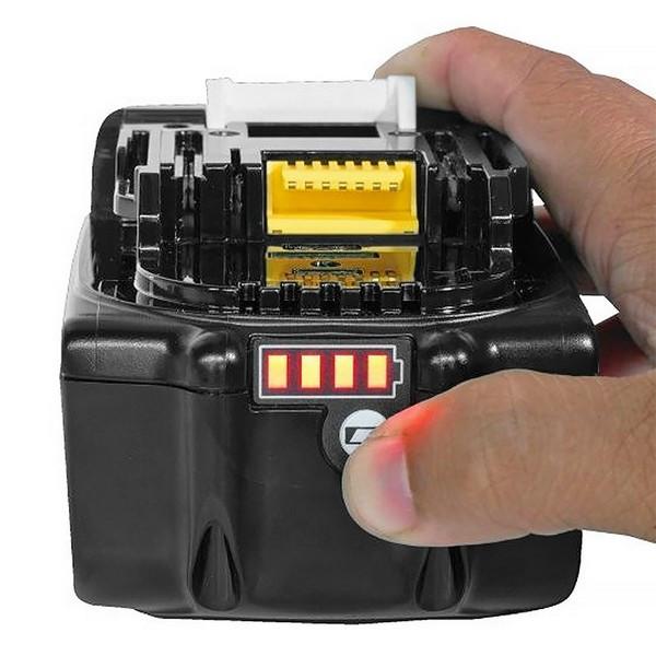 Комплект Makita - две батерии 18V, 6Ah BL1860B и двойно зарядно DC18RD