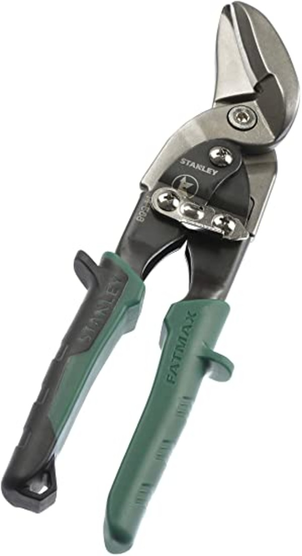 Ножица за ламарина дясна усилена Stanley, 250мм