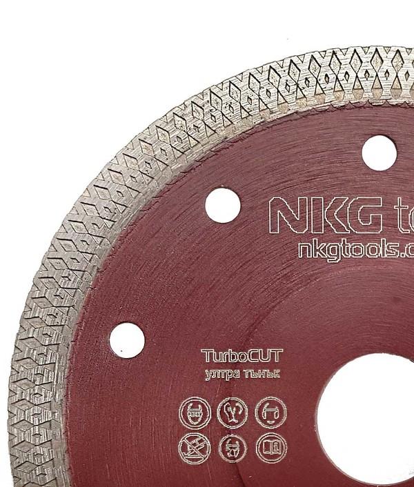 Диамантен диск за плочки TurboCut ф 115x1.3x22.2 мм