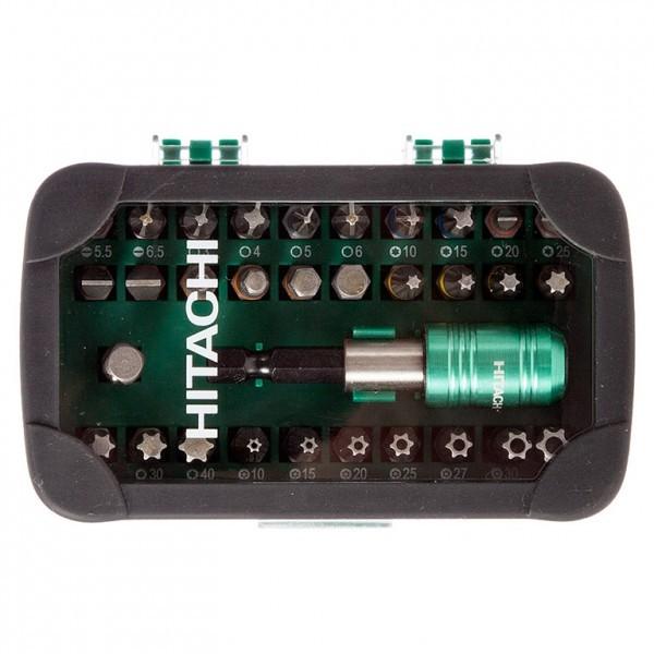 Накрайник бит комплект с магнитен държач 32 бр., HiKOKI (Hitachi)