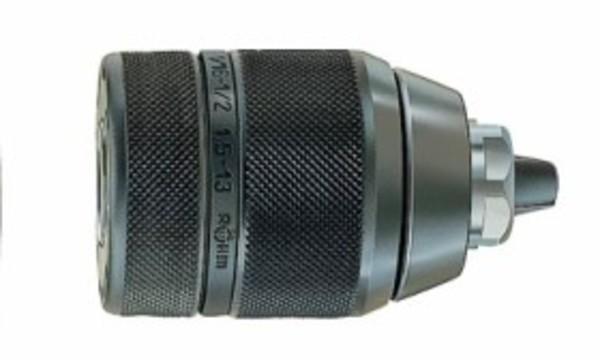 Патронник за бормашина бързозатягащ, метален, с присъединителни отвори на резба Rohm