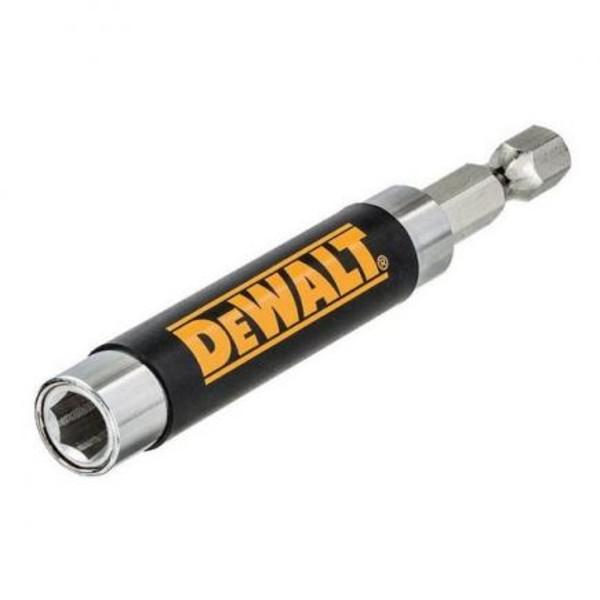"""Държач за накрайници и битове магнитен 1/4""""х80 мм Dewalt DT7701"""