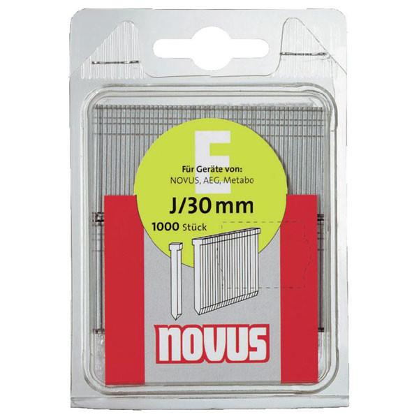 Гвоздеи за такер тип J 1.2 мм, 16 мм, 1000 бр. Novus