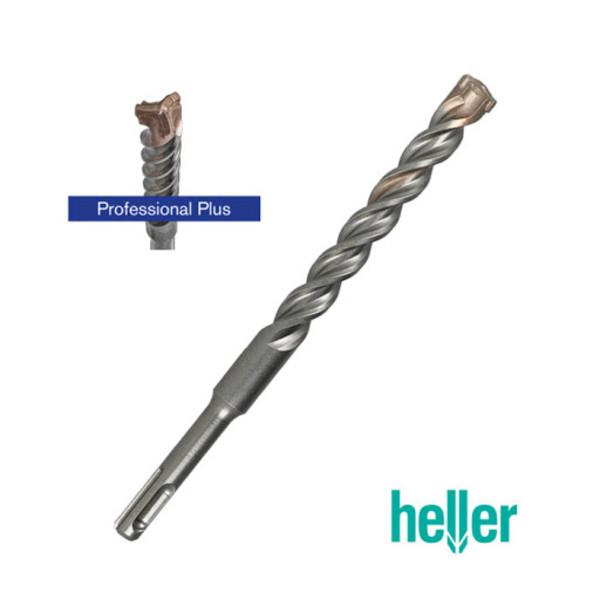 Свредло за бетон SDS-plus с 3 пластини и тройна спирала ф 10 мм, 150/210 мм Heller Trijet