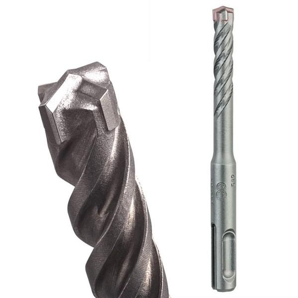 Свредло за армиран бетон SDS-plus с 4 пластини и четворна спирала ф 10 мм, 150/210 мм Bosch SDS-plus-5X