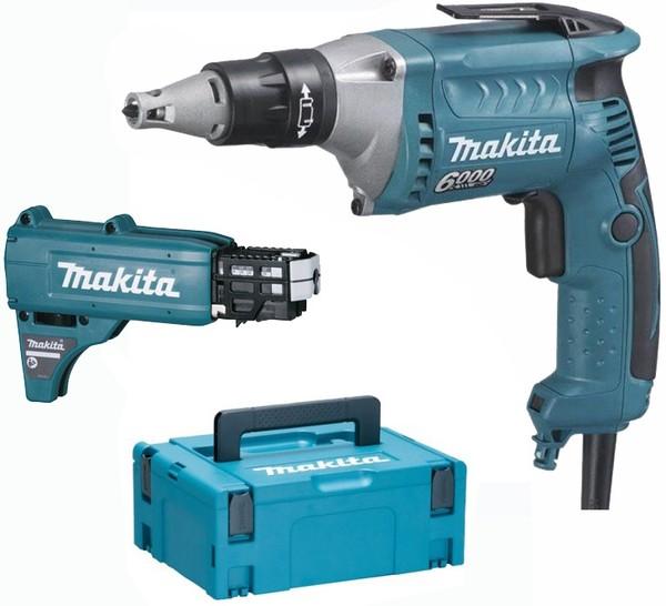 Винтоверт електрически Makita FS6300JX2, 0-6000 об/мин.