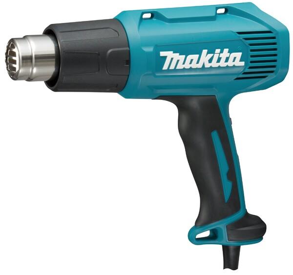 Пистолет за горещ въздух Makita HG5030K, 1600 W, 350/500 °С, 350/500 л/мин