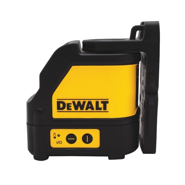 Линнен лазерен нивелир с 2 лъча 20 м, 0.3 мм/м Dewalt DW088CG